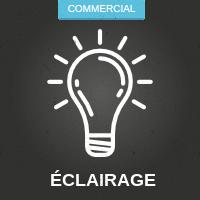 Éclairage commercial