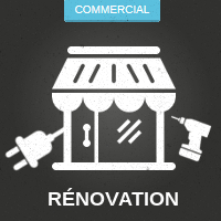 Rénovation commercial
