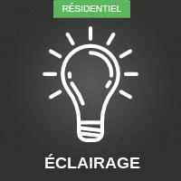 Éclairage résidentiel
